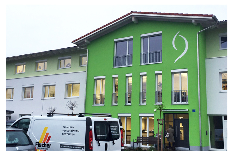 Widmann Gruppe Fassade
