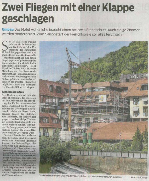 Widmann Gruppe Schwäbisch Hall - News