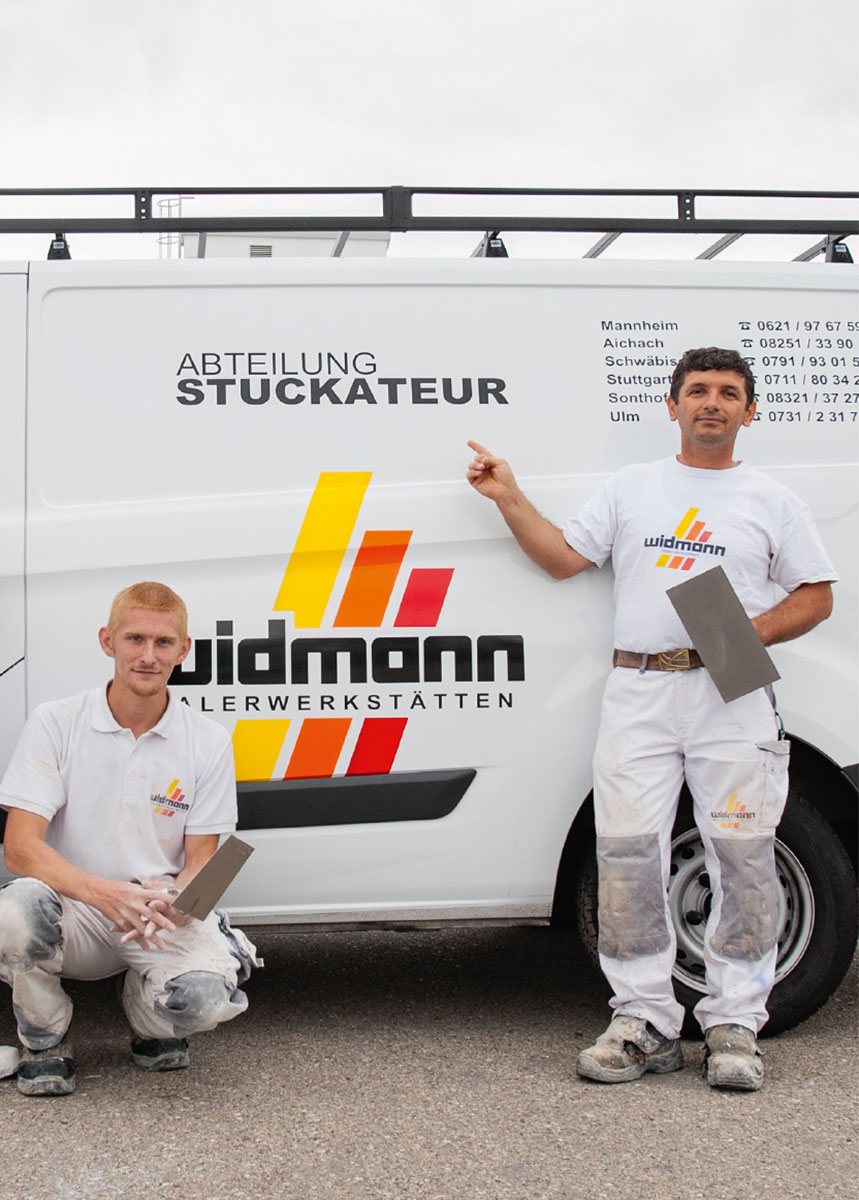 Widmann Gruppe Schwäbisch Hall - Stuckateur