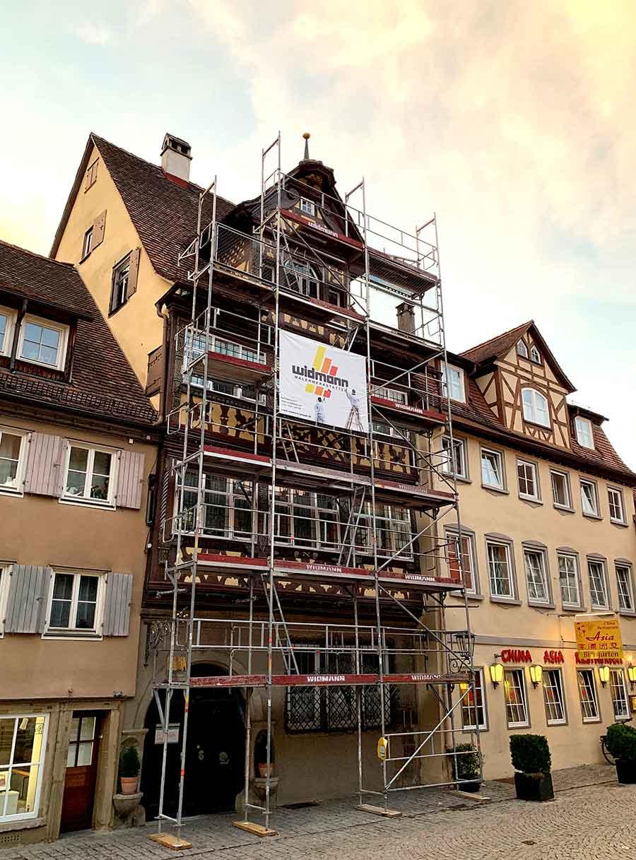 Widmann Gruppe Schwäbisch Hall - Gerüstbau