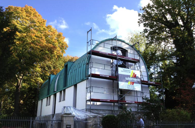 Fassade - Maler - Gerüstbau - Widmann Malerwerkstätten Schwäbisch Hall