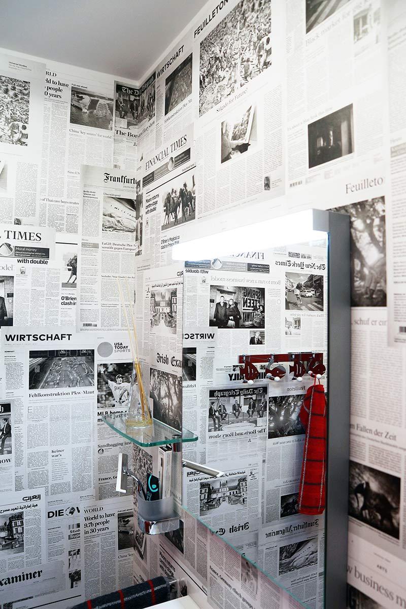 Maler - Innenraum - Grafisches Raumdesign - Widmann Malerwerkstätten Schwäbisch Hall