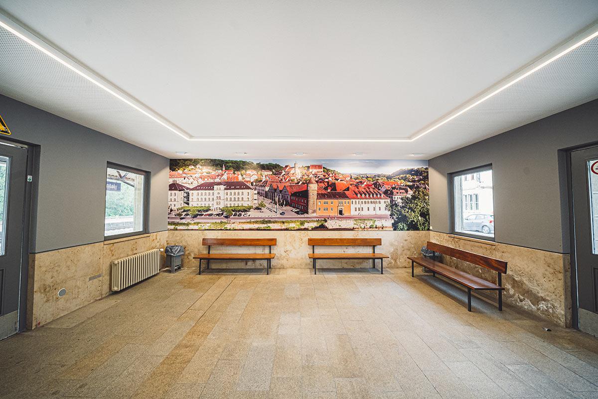 Grafisches Raumdesign - Widmann Malerwerkstätten Schwäbisch Hall