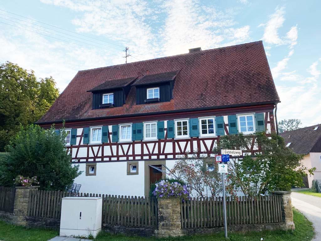 Fassade - Widmann Malerwerkstätten Schwäbisch Hall