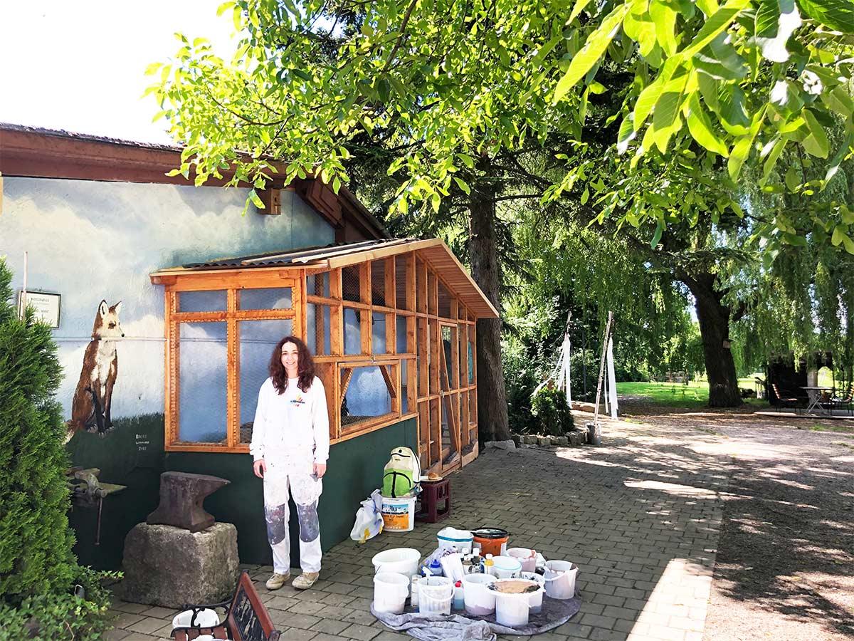 Fassade - Maler - Widmann Malerwerkstätten Schwäbisch Hall