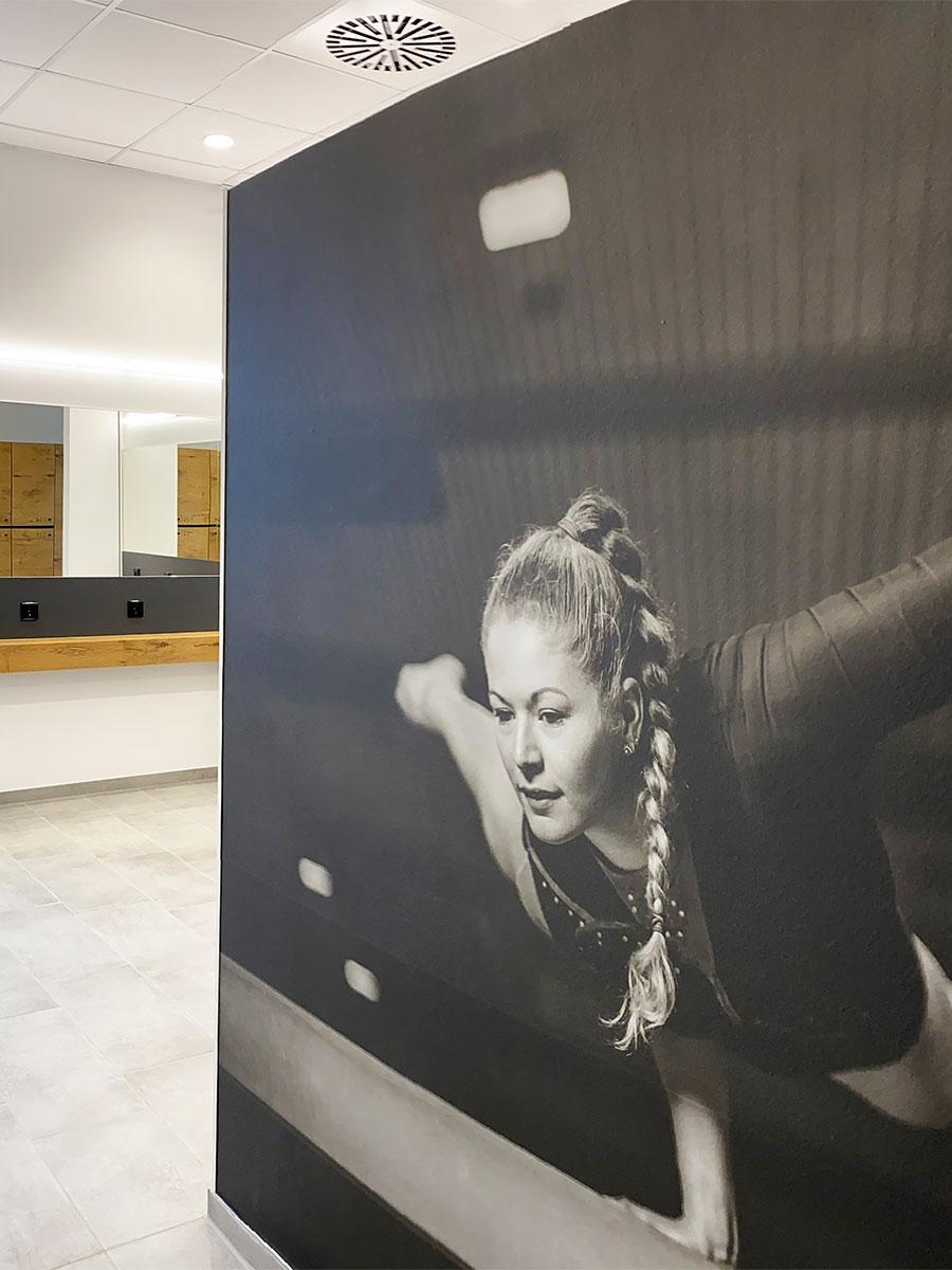 Grafisches Raumdesign - Maler - Widmann Malerwerkstätten Schwäbisch Hall